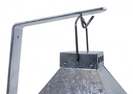 A2 Living Wandhalter für Allwetter Laterne Metall Halter Verzinkt Laternenhalter