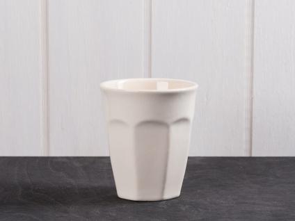 IB Laursen MYNTE Cafe Latte Becher Creme Weiß Keramik Geschirr BUTTER CREAM 250m - Vorschau 1