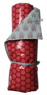 AU Maison Picknickdecke XXL Streifen Ice grün Trigo pink wasserdicht 140x180 Fül