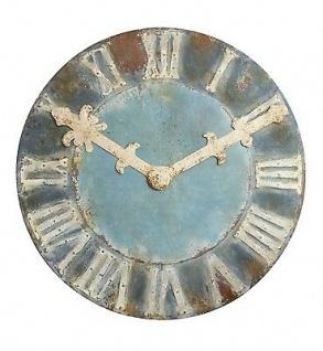 Bloomingville Uhr CHATEAU Wanduhr rund XXL Format 120 cm Durchmesser