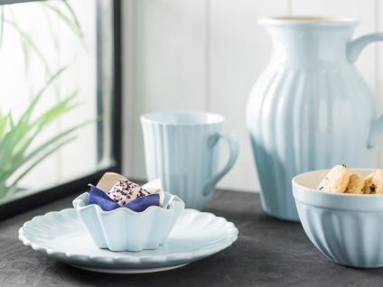 IB Laursen MYNTE Kuchenteller Blau Keramik Teller 21 cm STILLWATER Geschirr - Vorschau 4