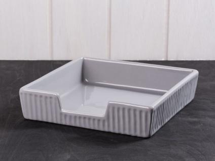 IB Laursen MYNTE Serviettenhalter Grau Keramik Geschirr FRENCH GREY Halter 19x19