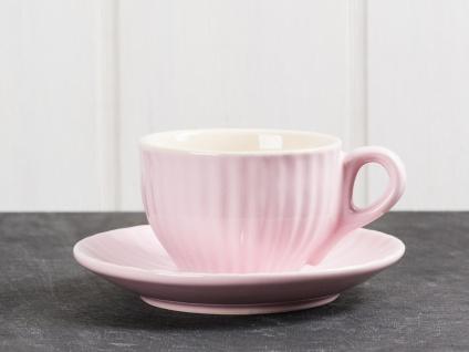 IB Laursen Espresso Tasse MYNTE Rosa m Untertasse Keramik Geschirr English Rose - Vorschau 1