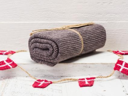 Solwang Küchentuch Organisch Grau Baumwolle Handtuch Geschirrtuch gestrickt