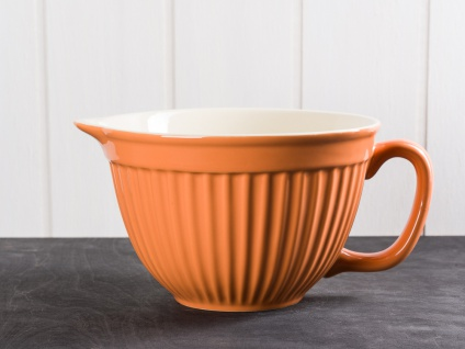 IB Laursen MYNTE Rührschüssel Orange Keramik Geschirr PUMPKIN SPICE 1700 ml