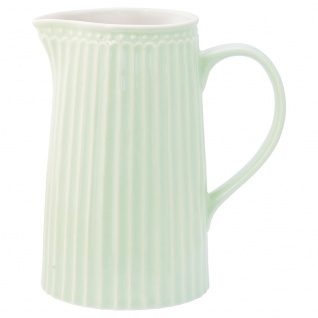 Greengate Krug ALICE Grün Kanne 1 Liter Everyday Geschirr Karaffe PALE GREEN