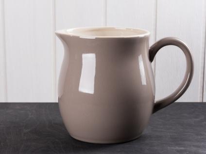 IB Laursen MYNTE Kanne 2.5 Liter Braun Keramik Geschirr MILKY BROWN Krug Karaffe