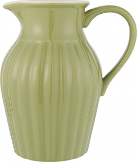 IB Laursen MYNTE Kanne 1.7 Liter GRÜN Keramik Geschirr HERBAL GREEN Karaffe Krug