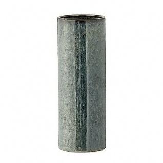 Bloomingville Vase grün-blau Keramik Blumenvase 17 cm hoch 6 cm Durchmesser