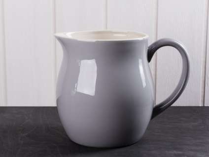 IB Laursen MYNTE Kanne 2.5 Liter Grau Keramik Geschirr FRENCH GREY Krug Karaffe
