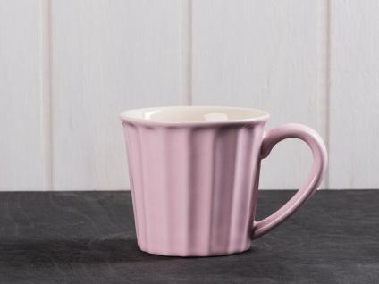 IB Laursen MYNTE Becher Rosa ENGLISH ROSE Tasse Keramik Geschirr 250 ml