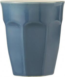 IB Laursen MYNTE Cafe Latte Becher BLAU Keramik Geschirr CORNFLOWER 250 ml