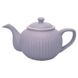 Greengate Teekanne ALICE Lila Kanne 1 Liter Everyday Geschirr Teapot LAVENDER