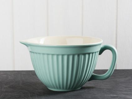 IB Laursen MYNTE Rührschüssel Grün Keramik Geschirr GREEN TEA 1700 ml Schale