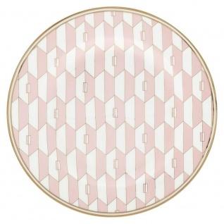Gate Noir GreenGate Teller Aurelie Pale Pink Gate Noir Kuchenteller Frühstückste