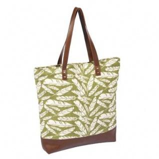 Pad Tasche FEDER Design grün Handtasche Pad Concept Shopper Einkaufstasche