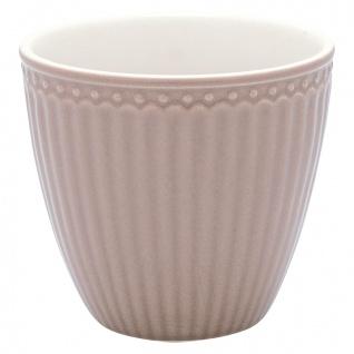 Greengate Latte Cup Becher ALICE Braun Everyday Geschirr HAZELNUT BROWN 300 ml