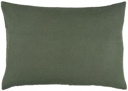 IB Laursen Kissenhülle Leinen Forest Green Grün Kissen 50x70 Kissenbezug