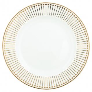 Greengate Teller Gate Noir DAWN Gold 20 cm Porzellan Geschirr Kuchenteller