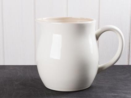IB Laursen MYNTE Kanne 2.5 Liter Creme Weiß Keramik Geschirr BUTTER CREAM Krug
