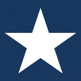 Ambiente Servietten STAR DARK BLUE 20 Stück blau STERN weiß 33x33 dunkelblau