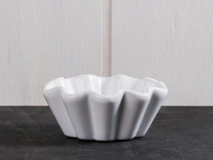 IB Laursen MYNTE Muffinschale Weiß Keramik Muffinform PURE WHITE Backform