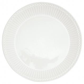Greengate Teller ALICE Weiß 23cm Kuchenteller Everyday Geschirr Frühstücksteller