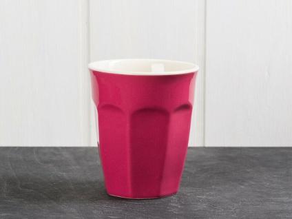 IB Laursen MYNTE Cafe Latte Becher Brombeere Keramik Geschirr BLACKBERRY 250 ml