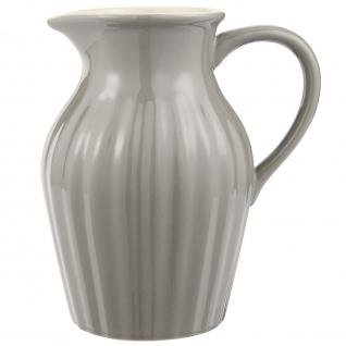 IB Laursen MYNTE Kanne 1.7 Liter Grau Keramik Geschirr GRANITE Karaffe Krug