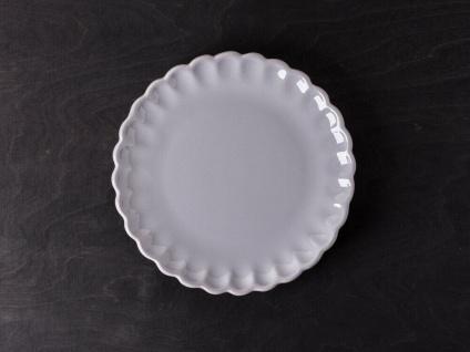 IB Laursen MYNTE Kuchenteller Grau Keramik Teller 21 cm FRENCH GREY Geschirr