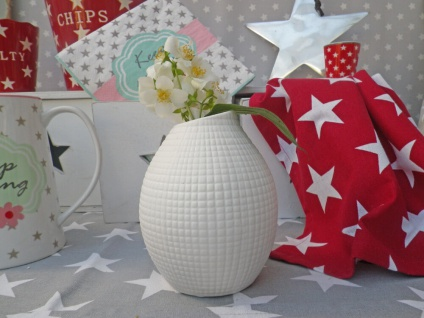 Vase Lucky weiß - Skandinavisches Design. Nordic Style. Keramik