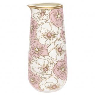 Gate Noir GreenGate Krug Flori pale pink 0.4 Liter Kanne rosa weiß Blumen