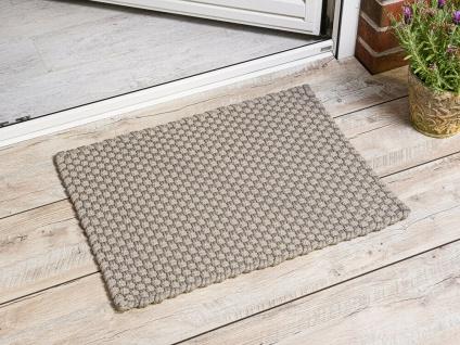 Pad Outdoor Matte UNI Sand 52x72 Fussmatte Teppich Pad Concept Fußmatte Beige