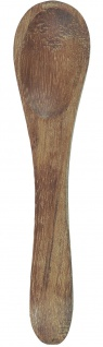 IB Laursen Salzlöffel Akazie Holzlöffel Akazienholz Löffel 8.5 cm Holz Teelöffel