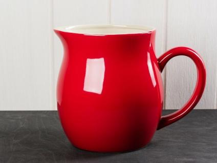 IB Laursen MYNTE Kanne 2.5 Liter Rot Keramik Geschirr STRAWBERRY Krug Karaffe