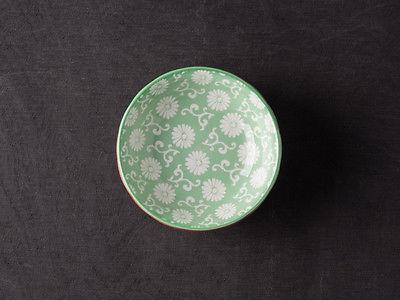 IB Laursen Schale LIVA Mini grün weiß Blumen Geschirr Schüssel Porzellan - Vorschau 5