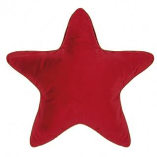 Pad Kissen Superstar rot Stern 60x60 Weihnachten Pad Concept Kissen m Füllung