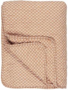 IB Laursen Quilt Sunset mit weißem Muster Decke Tagesdecke 130x180 Bettüberwurf