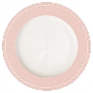 Greengate Teller ALICE Rosa 17.5 Kuchenteller Everyday Geschirr PALE PINK