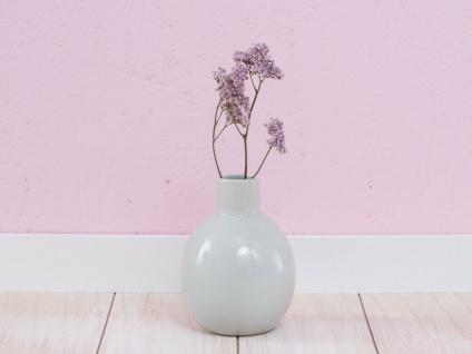 A Simple Mess Vase CAMILLA Grün 11 cm Blumenvase hellgrün Keramik Skandinavische