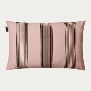 Linum Kissen WYLER ROSA Streifen 40x60 Kissenhülle Baumwolle Kissenbezug pink