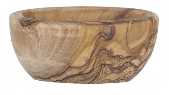 IB Laursen Schale OLIVIA für Salzlöffel Oliven Holz 4.5 x 8 cm Salzschale