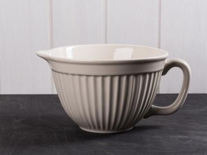 IB Laursen MYNTE Rührschüssel Beige Keramik Geschirr LATTE 1700 ml Schale