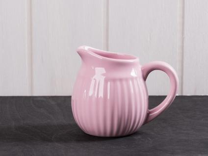 IB Laursen MYNTE Sahnekännchen Rosa Milchkännchen ENGLISH ROSE Keramik Geschirr