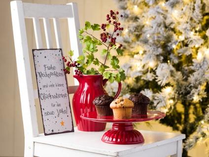 Ib Laursen Mynte Kanne 1.7 Liter Rot Keramik Geschirr Strawberry Krug Karaffe - Vorschau 3