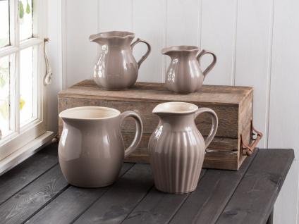 IB Laursen MYNTE Kanne 1.7 Liter Braun Keramik Geschirr MILKY BROWN Krug Karaffe - Vorschau 2