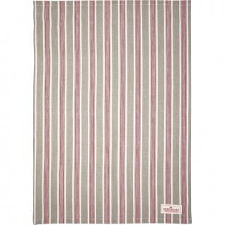 Greengate Geschirrtuch IVAH Beige Streifen Muster Baumwolle 50x70 Küchentuch