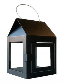 A2 Living Hängelaterne Schwarz 12 cm Gartenlaterne Laterne hängend f 1 Teelicht