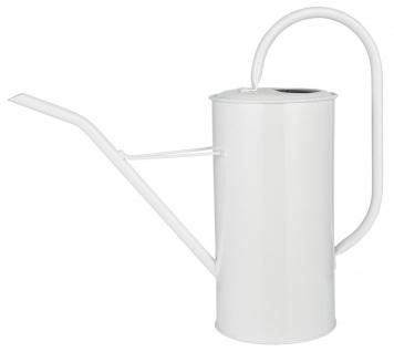 IB Laursen Gießkanne Weiß 2.7 Liter Metall Blumengießkanne Wasser Kanne