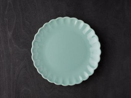 IB Laursen MYNTE Kuchenteller Grün Keramik Teller 21 cm GREEN TEA Geschirr